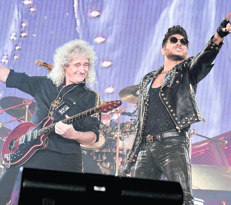 En la actualidad Queen realiza conciertos con la participación del cantante Adam Lambert en las voces. (Foto: EFE)