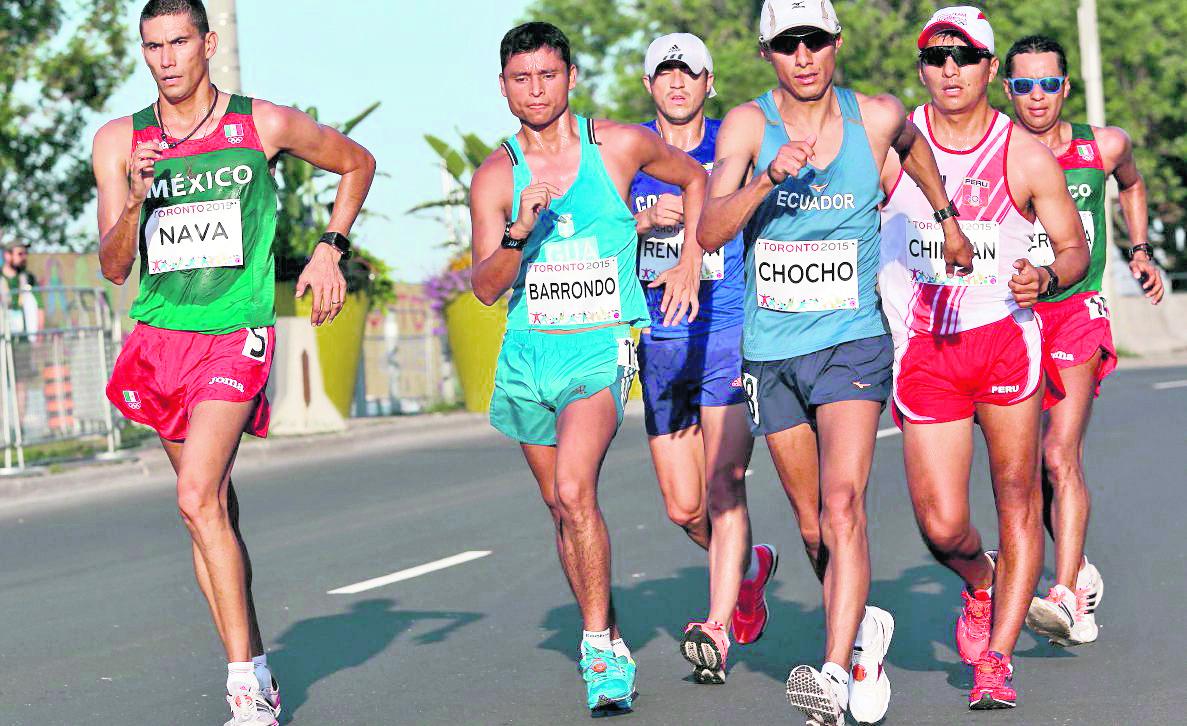 Érick Barrondo competirá en la prueba de los 50 kilómetros en el Mundial. (Foto Prensa Libre: Hemeroteca PL).