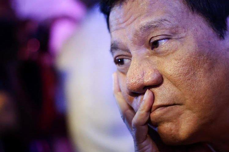 Rodrigo Duterte, virtual vencedor en las presidenciales de Filipinas. (Foto Prensa Libre: EFE).