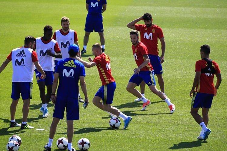 Colombia sigue preparándose para enfrentar a España