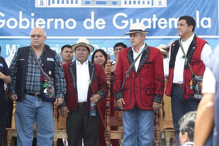 El programa Mi Bolsa Segura, parte del plan Hambre Cero, fue impulsado por el gobierno del Partido Patriota. (Foto Prensa Libre: Hemeroteca)