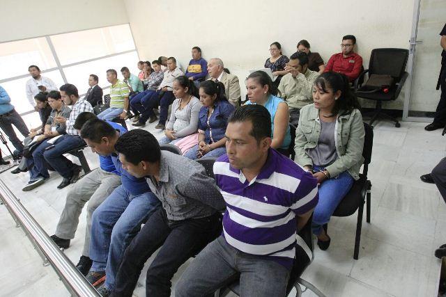 Ocho guardias del Sistema Penitenciario son ligados a proceso por fuga de la Patrona. (Foto Prensa Libre: Carlos Hernández)