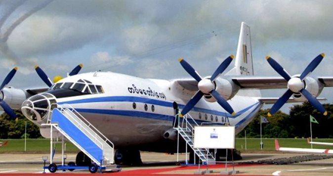 Un avión Y-8F-200 se estrelló este miércoles en el mar de Andamán, luego de partir de la ciudad de Myeik, en el sureste de Birmania. (Foto Prensa Libre: EFE)