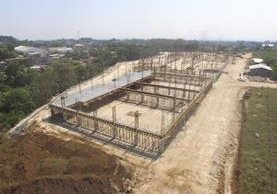 Las instalaciones del Intecap de Mazatenango, Suchitepéquez, se construyen en un terreno de dos manzanas, en la ruta a Cuyotenango. (Foto Prensa Libre: Christian Icó)
