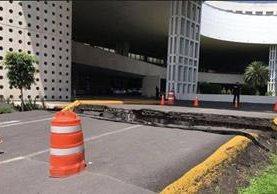 Aeropuerto Internacional de México volvió a habilitar instalaciones, después de evaluar daños por terremoto que en su mayoría fueron en áreas externas. (Foto Prensa Libre: www.sandiegored.com)