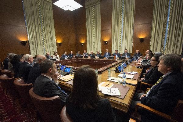 Régimen y oposición siria se encuentran en Ginebra para negociaciones.