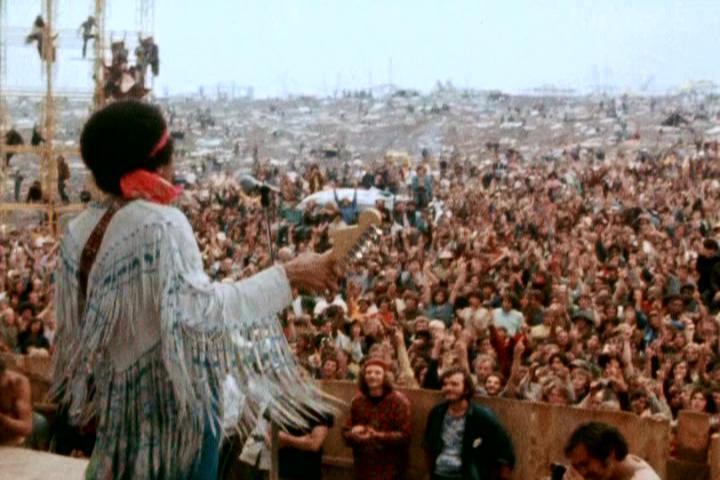 El festival de Woodstock de 1969 quedó grabado en la historia por su multitudinaria asistencia.