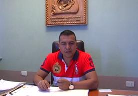 Sabino Herwin Calachij Gutiérrez, alcalde de Zacualpa, fue condenado a dos años de prisión conmutables. (Foto Prensa Libre: Héctor Cordero)