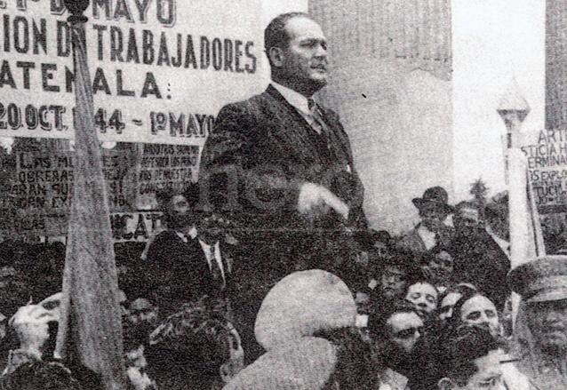 Juan José Arévalo Bermejo fue presidente de la República de 1945 a 1951. (Foto: Hemeroteca PL)