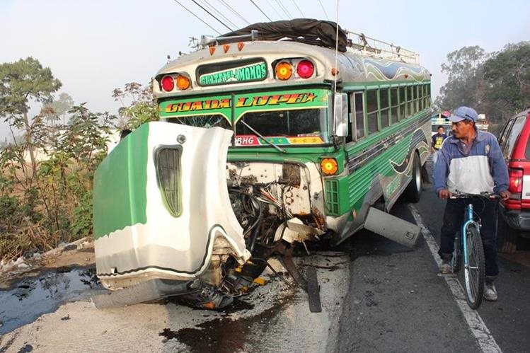 La ruta Interamericana a occidente es una de las que más accidentes de buses registras. (Foto Hemeroteca PL)