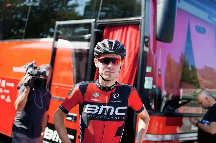 Tejay van Garderen abandonó este miércoles el Tour. (Foto Prensa Libre: AP)