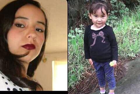 Fotografía de Vidalia Vicente Mazariegos y su hija Paola Foricelda Mazariegos Vicente, en vida. (Foto Prensa Libre: Carlos Ventura)