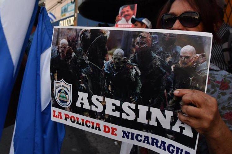 En video: exigen liberación de estudiantes detenidos durante protestas en Nicaragua