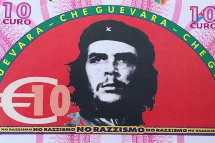 Lideres comunistas e izquierdistas adornan los billetes falsos del pueblo Gioiosa Ionica, en Italia. BBC Mundo