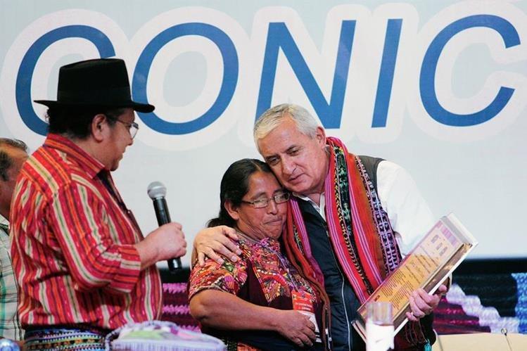 La Conic manifestó su respaldo a Otto Pérez Molina recientemente. (Foto: Hemeroteca PL)