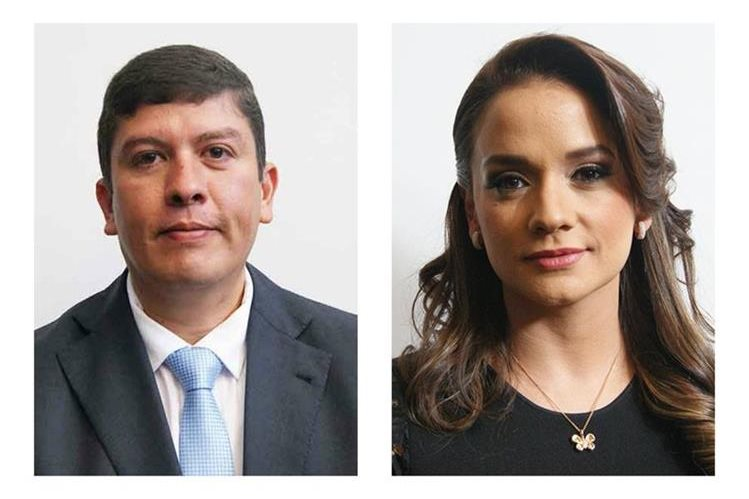 Gustavo Medrano de Líder y Stella Alonzo del Patriota son los diputados más faltistas en la octava legislatura. (Foto Prensa Libre: Hemeroteca PL)