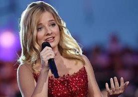 La cantante Jackie Evancho, de 16 años, será la encargada de entonar el himno nacional de EE. UU. (GETTY IMAGES)