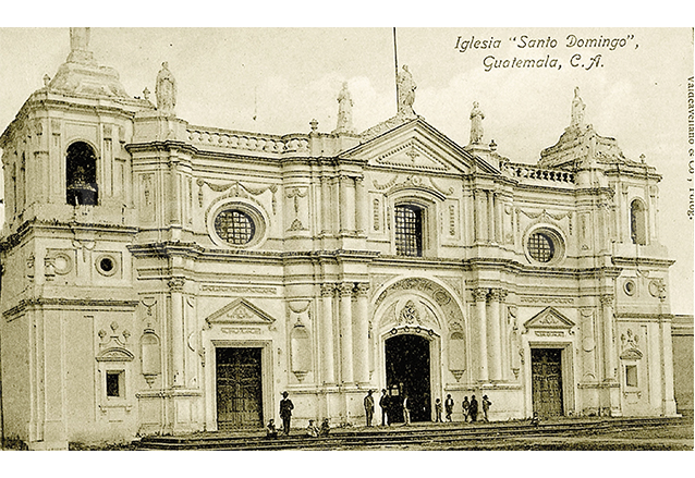 Templo de Santo Domingo, hoy Basílica. Foto anterior a 1917. (Foto: Hemeroteca PL)