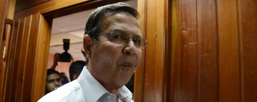 Rafael Callejas, uno de los 16 nuevos procesados en el escándalo de corrupción de la Fifa.
