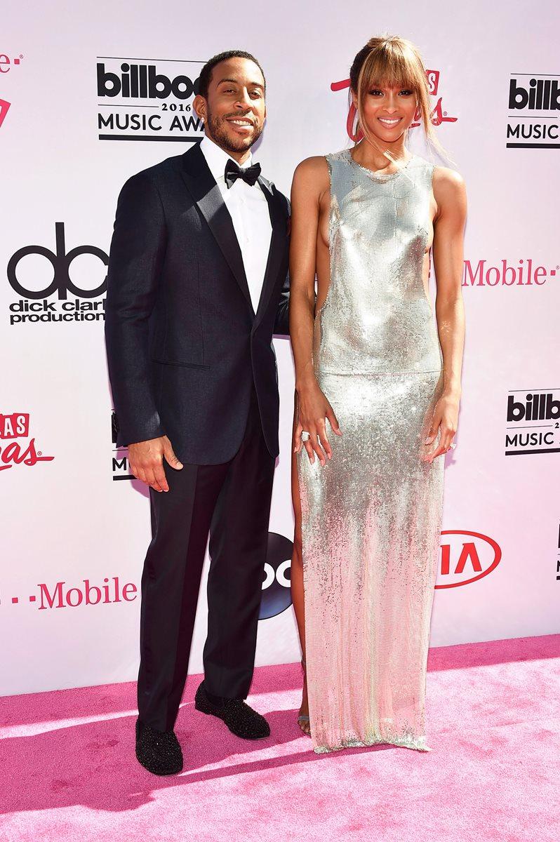 Los anfitriones de la velada: Ludacris y Ciara.