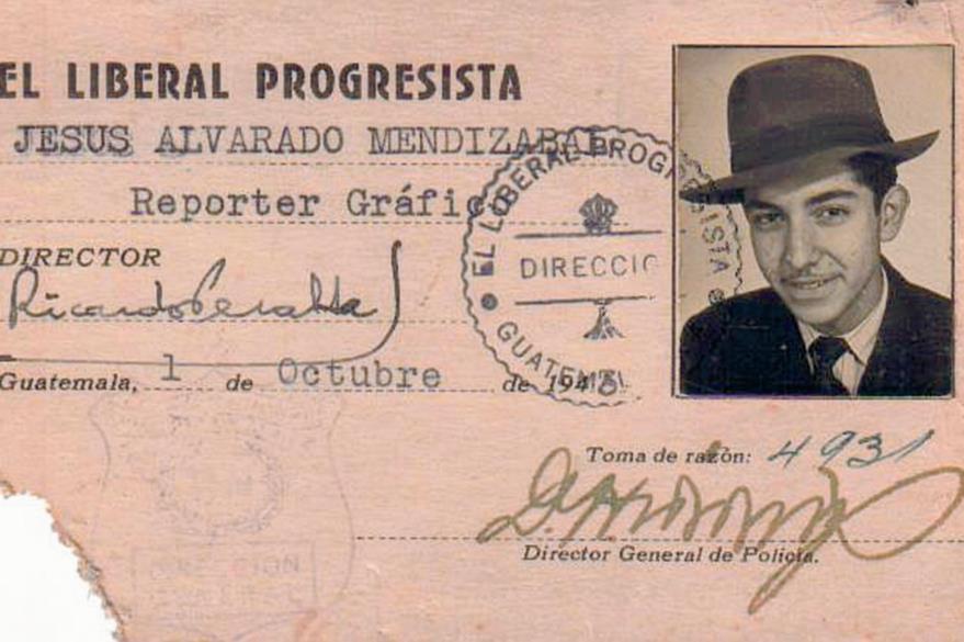 Periodista Jesús Alvarado Mendizabal, cofundador del Instituto de Previsión Social del Periodista. (Foto Prensa Libre: Edwin Castro)