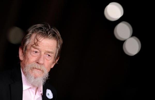 John Hurt estuvo postulado al Óscar por los filmes El hombre elefante y El expreso de medianoche. (Foto Prensa Libre: AFP)