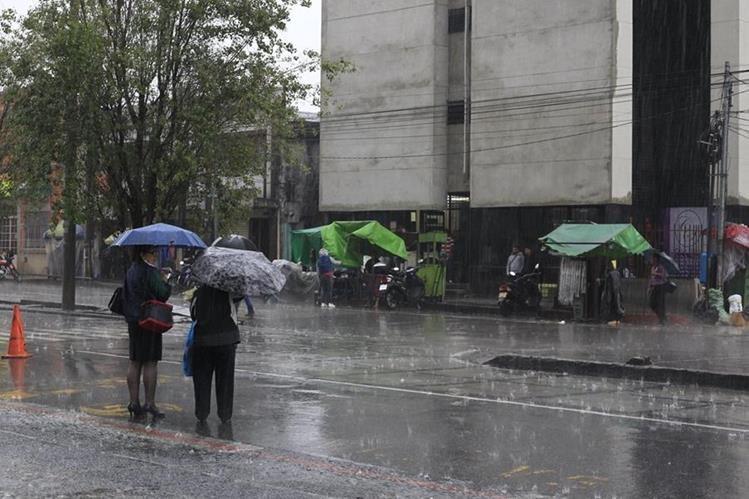 Se espera que septiembre sea un mes lluvioso debido a las condiciones climáticas del océano Pacífico. (Foto Prensa Libre: HemerotecaPL)