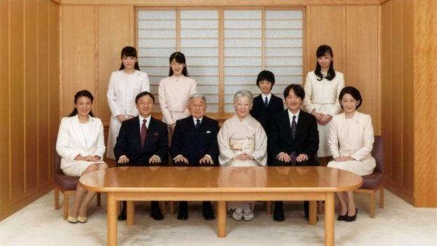 Con el matrimonio de Mako, el número de miembros de la familia imperial caerá a 18. REUTERS