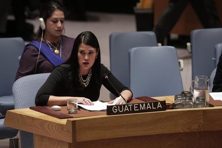 Es la primera y única abogada guatemalteca que ocupará ese cargo en La Haya. (Foto cortesía Ana Cristina Rodríguez).