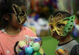 El Carnaval es peculiar por celebrarse con los tradicionales cascarones.