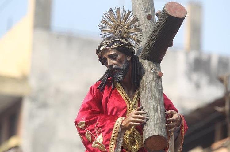 La procesión sale cada cuarto sábado de cuaresma desde hace tres años.