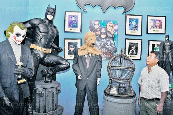 Diversidad de figuras del cine y de tiras cómicas son exhibidas en el primer edificio del museo del juguete. (Foto: Hemeroteca PL)