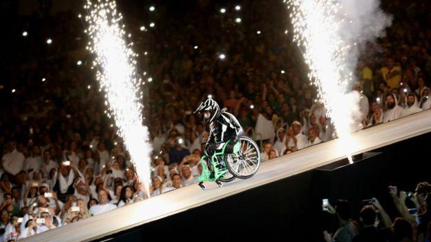 Inauguración de los Juegos Paralímpicos de Río 2016. GETTY IMAGES