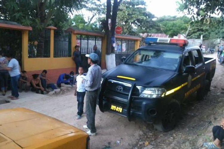 Inmueble donde ocurrió la tragedia, en la cabecera de Jutiapa. (Foto Prensa Libre: Óscar González).