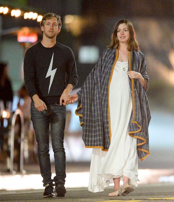 Anne Hathaway y Adam Shulman se casaron en el 2012. (Foto Prensa Libre: mx.hola.com)