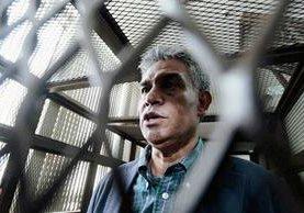 Carlos Muñoz fue capturado el 16 de abril como supuesto integrante de la estructura La Línea. (Foto Prensa Libre: Hemeroteca PL)