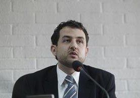Alexander Aizenstadt, interventor de TCQ. (Foto Prensa Libre: Edwin Bercián)