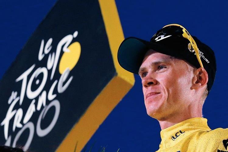 Christopher Froome se siente preparado para una nueva edición del Tour de Francia. (Foto Prensa Libre: Hemeroteca PL)