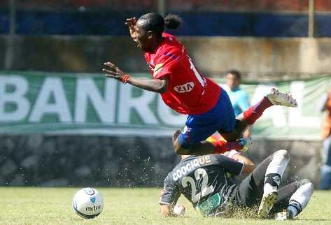 MARVIN ÁVILA es uno de los jugadores que han sufrido racismo.