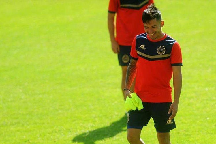 Jaime Alas es pieza clave en el armado rojo. (Foto Prensa Libre: Edwin Fajardo)