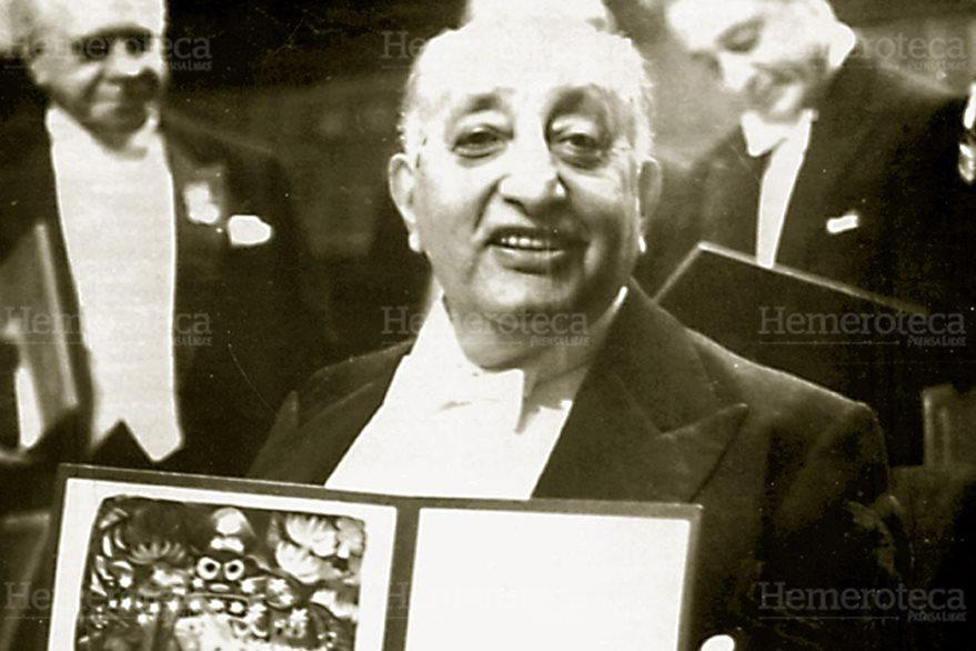 """Miguel Ángel Asturias autor de """"El señor presidente"""". (Foto: Hemeroteca PL)"""