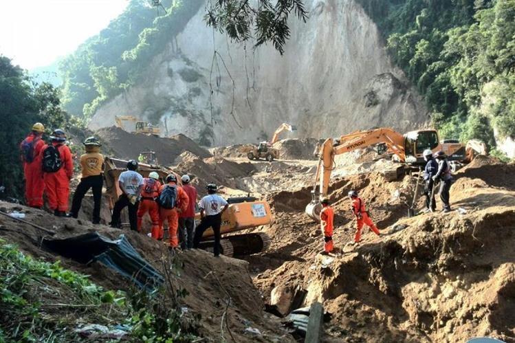 Gobierno declara estado de calamidad pública área de El Cambray 2. (Foto Prensa Libre: Hemeroteca PL)