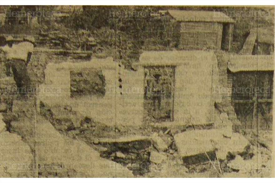 El adobe fue mortal y no soportó el remezón del 4 de febrero de 1976. (Foto: Hemeroteca PL)