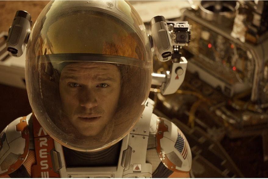Matt Damon asumió el reto de actuar por segunda ocasión en una película donde está solo en el espacio. (Foto Prensa Libre: Hemeroteca PL)