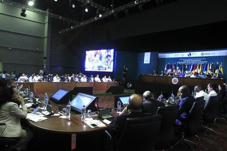 Reunión en México no fructificó sobre la crisis en Venezuela. (Foto Prensa Libre: EFE)