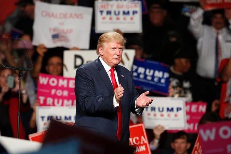 Donald Trump, magnate republicano. (Foto Prensa Libre: AFP)