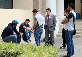 <p>Dos exjugadores y el resto de futbolistas del club Xelajú MC están divididos por que unos buscan acuerdo con la parte agraviada. (Foto Prensa Libre: Carlos Ventura)<br></p>