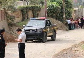 Varios ataques armados se ha registrado este mes en Chimaltenango. (Foto Prensa Libre: Víctor Chamalé)