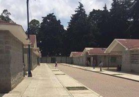 Las instalaciones del Hogar Seguro donde murieron calcinadas varias internas. (Foto Prensa Libre: Hemeroteca PL)