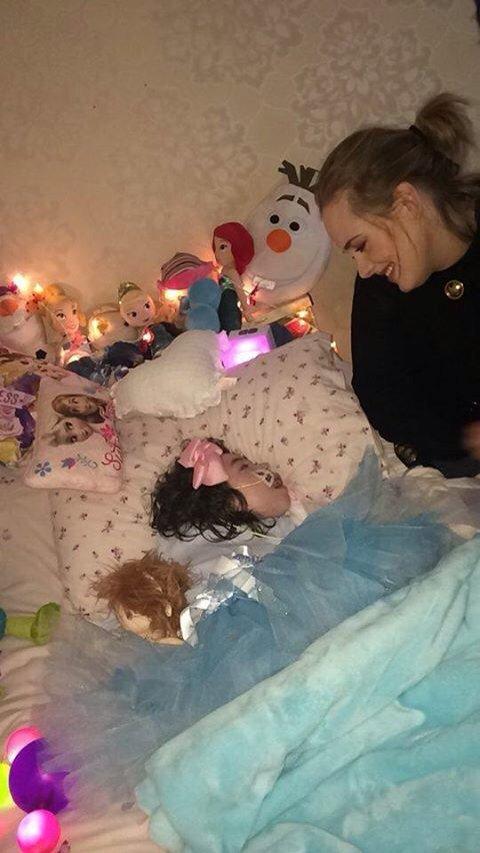 Adele visitó a una fan en un hospital. (Foto Prensa Libre: Hemeroteca PL)
